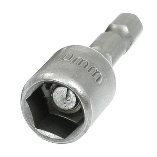 PHFU wholesale 5PCS Wholesale 5 Pcs 43mm Length 10mm Magnetic Socket Nut Driver Setters Hand Tools(China (Mainland))