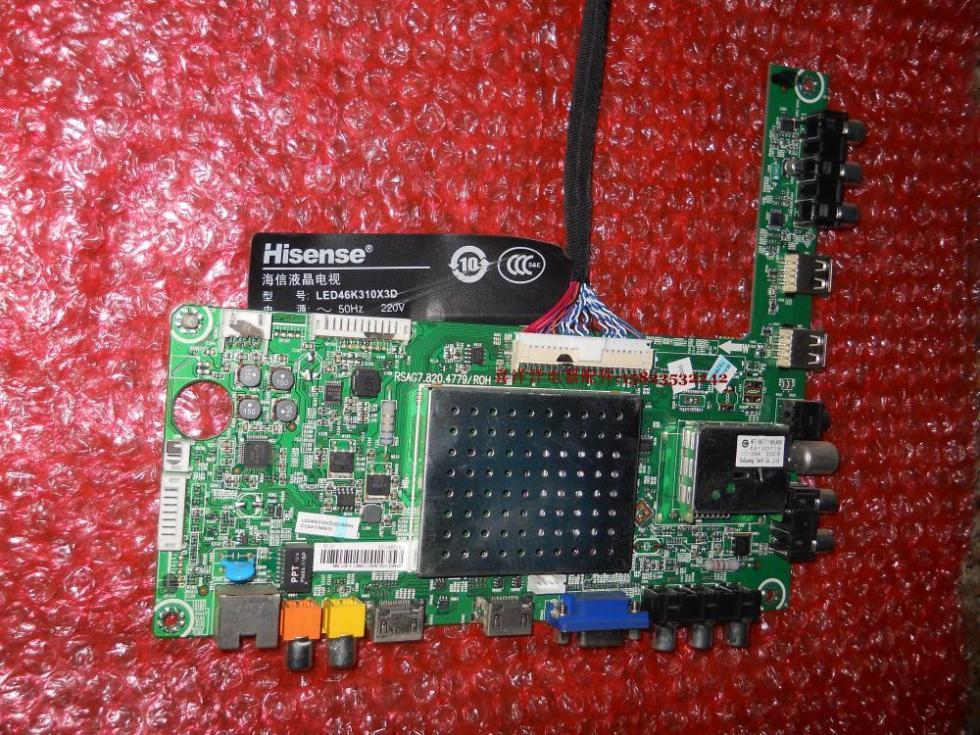 Original LED46K310X3D BOM3 motherboard RSAG7 820 4779 screen BE460FFD B31
