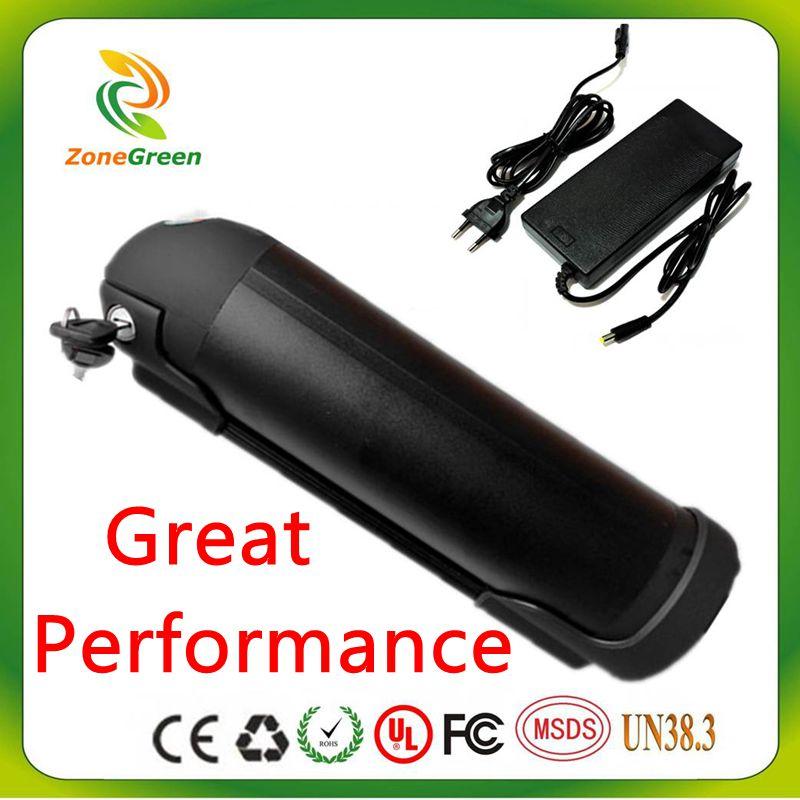 No Tax Great 48V 18Ah 750W 960W Ebike Battery Li-ion Water Kettle Lithium electric bike Battery Black for Panasonic 3400mah Cell(China (Mainland))