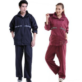 $5 off per $59 [Free Shipping] Motorcycle Electric Car Snow Grams Of Fashionable Men And Women Split Double Rain Pants Raincoat