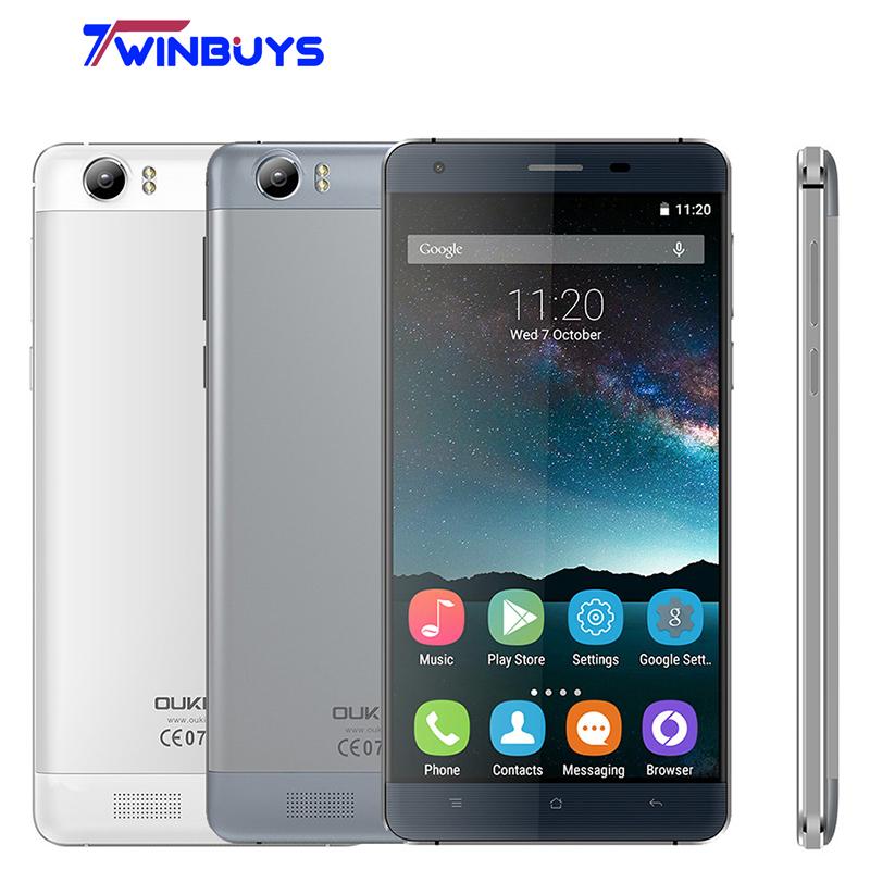 Original Smartphone OUKITEL K6000 Cellphone Large 6000mah 2G RAM+16G ROM Android 5.1 Unlocked 2G/3G/4G Smart Mobile Phone(Hong Kong)