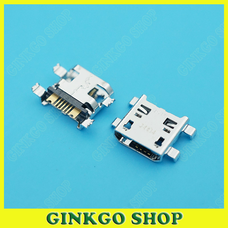 100pcs/lot Micro USB Data Charging Connector Jack for Samsung W2013 USB Power Port<br><br>Aliexpress