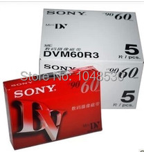 5pcs/lot Free shipping,High Quality mini DV Cassette Mini DV Digital Vedio Cassette DV Tape With SP 60MIN LP 90MIN,