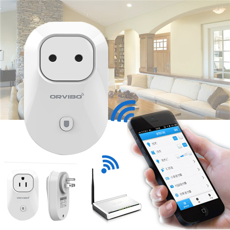 2015 New Arrival Wifi Cell Phone Wireless Remote Control Switch Timer Smart EU/US Standard Power Socket Plug Home Automation(China (Mainland))