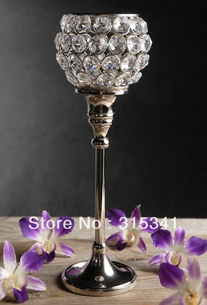 Free shiping pcs lot crystal wedding centerpiece