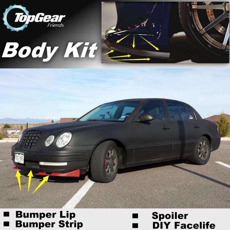 Bumper Lip Deflector Lips For KIA Amanti / Opirus 2002~2011 Front Spoiler Skirt For TOPGEAR Fans Car Tuning / Body Kit / Strip<br><br>Aliexpress