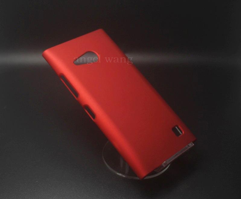 Rubber Hard Plastic Phone Case Nokia lumia 730 - angel wang store