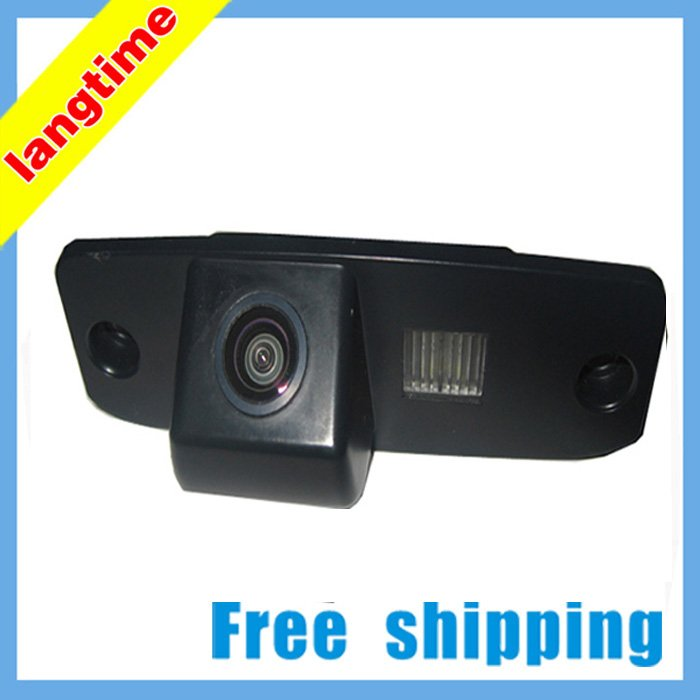 Free shipping--High resolution! CCD effect !special car rearview cameral for Hyundai Elantra,Accent,Tucson,Veracru, water proof(China (Mainland))