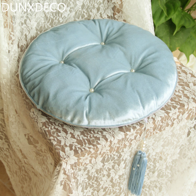 Round Blue Decorative Pillows : Popular Blue Round Pillow-Buy Cheap Blue Round Pillow lots from China Blue Round Pillow ...