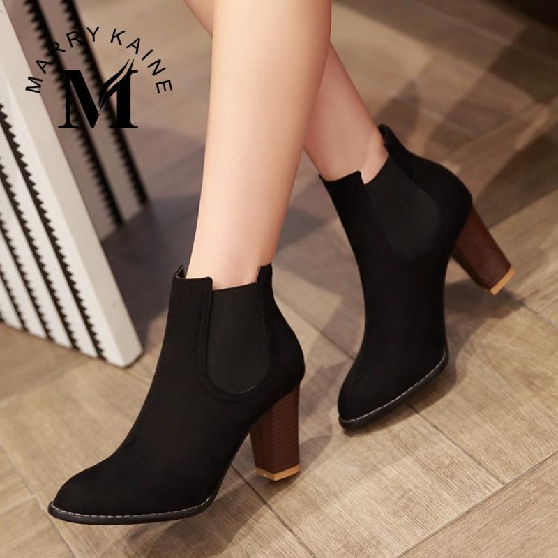 Sexy Gladiator Women Ankle Boots 2015 Fashion Pointed Toe High Heels Winter Spring Autumn Shoes Less