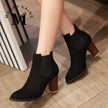 Sexy Gladiator Women Ankle Boots 2015 Fashion Pointed Toe High Heels Winter Spring Autumn Shoes Less Platform Motorcycle Boots