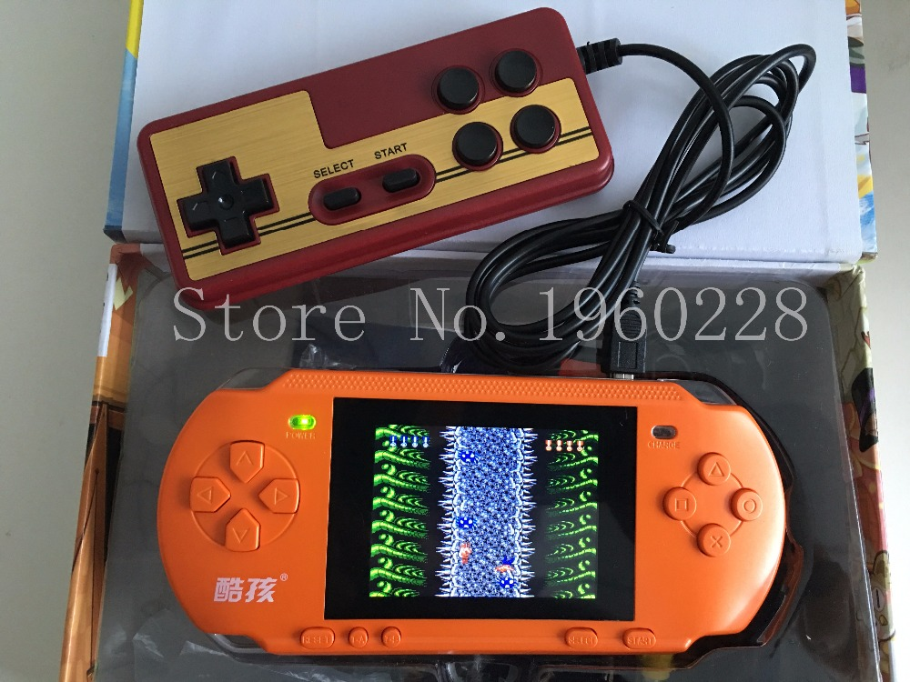 "New 3.2"" Big Color Screen Handheld Game Consolel Portable Video Game Consoles Free 318 Games Player With Gamepad Gift For Kids(China (Mainland))"