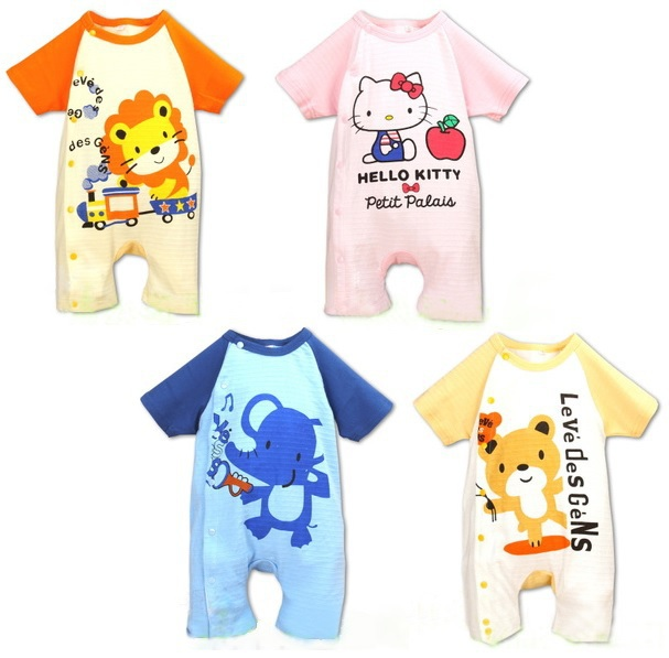 new born bodysuits overall baby rompers baby clothes jumpsuit pajamas animal shortalls cotton babywear toddler costumes tops Z83(China (Mainland))