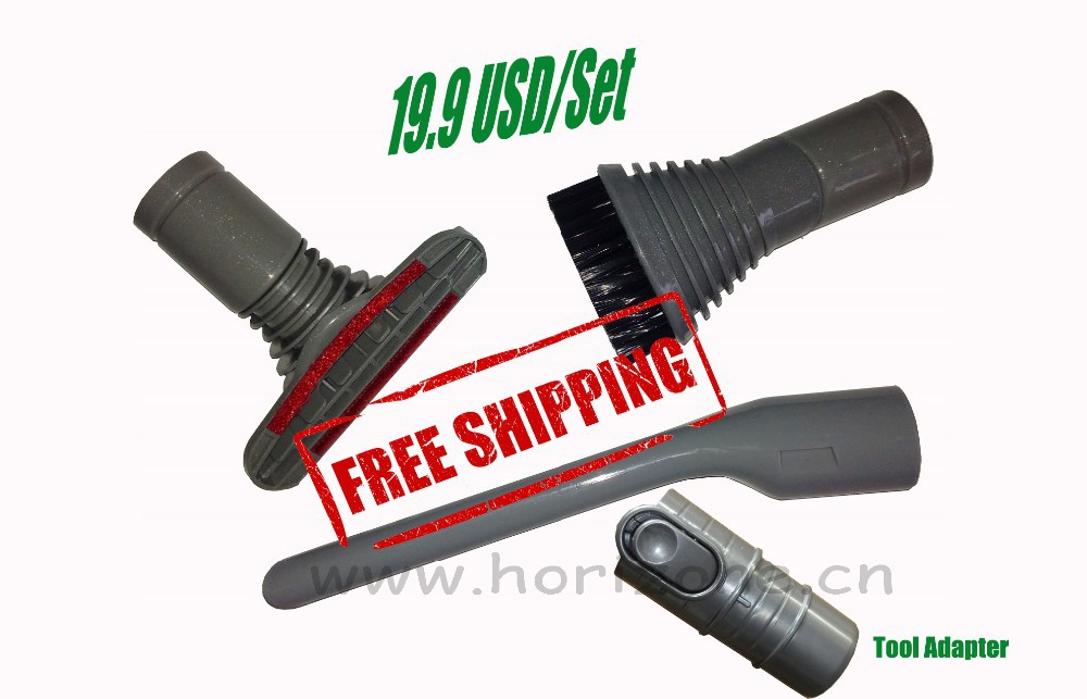3-Piece attachment Kit brush crevice Upholstery Tool for Dyson DC45, DC46, DC47 DC48 DC52, DC53, DC54, DC55, DC56, DC58, DC59(China (Mainland))