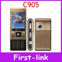 Original Sony Ericsson C905 unlocked 8MP Camera 3G GPS WIFI Cell Phone with Free Shipping