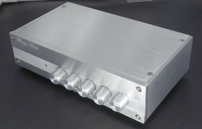 TPA3116 BTL Class D audio 5.1 channel HIFI power amplifier 100WX1 50WX5 by WLX(China (Mainland))