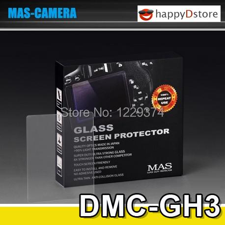 MAS LCD HD Screen Protector for Panasonic Lumix DMC-GH3 DMC-GH4 DMC GH3 GH4 Ultra thin 0.7mm Superior Japanese Optical Glass(China (Mainland))