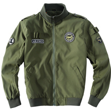 Mens Bomber Jacket US Air Force Slim Fit Tactical Jacket aeronautica militare  Men Military Uniform 2015 Brand Jacking man(China (Mainland))