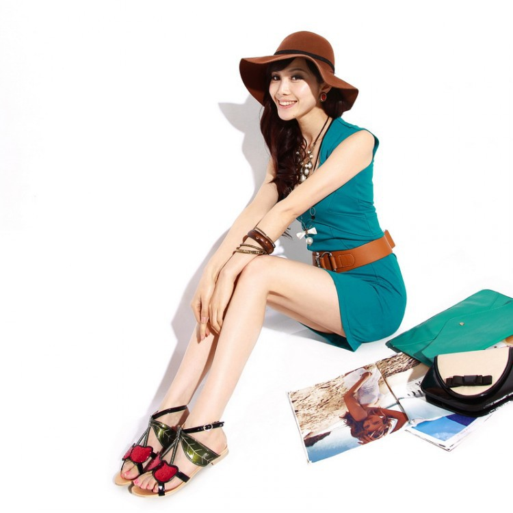 Plus Size shoes women sandals 2015 platform sandals sapato feminino summer style summer shoes chaussure femme open toe  319