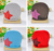 MOQ 1 piece New Design Baby Cap Fashion Star Hat Cotton Hat Boys & Girls Skull Cap Beanie Hat Free Shipping TM007 Kids Gift