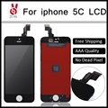 10PCS Grade AAA No Dead Pixel For iPhone 5C LCD Display Digitizer With Touch Screen Replacement