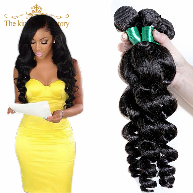 Rosa Hair Products Cheapest Human Hair Brazilian Virgin Hair Human Hair Weave Loose Wave Mixed 2 Bundles Free Shipping On Sale<br><br>Aliexpress