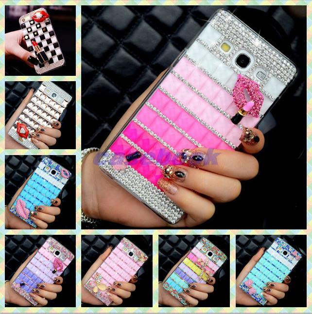 ZK1 For Motorola Droid RAZR i XT890 Case,3D Handmade Square Crystal Diamond Hard Case For Motorola Droid RAZR i XT890(China (Mainland))