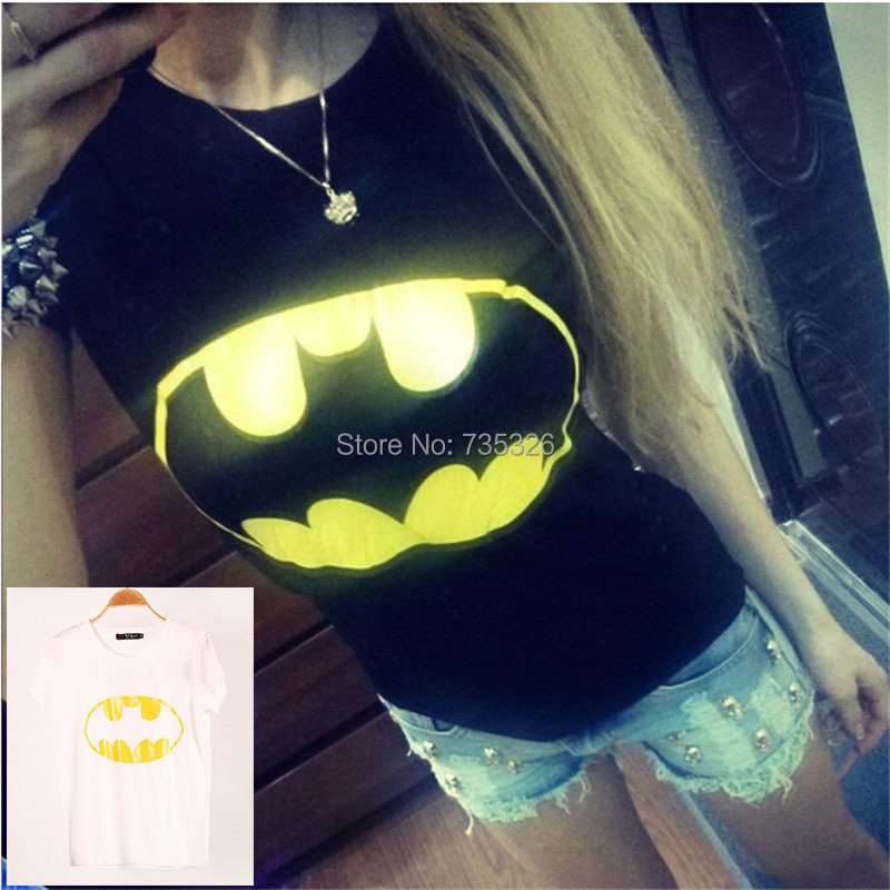 New 2014 Spring Summer Tops For Women Fashion T-Shirt Big yellow teeth Print Elasticity Cotton O-Neck plus size T-ShirtsОдежда и ак�е��уары<br><br><br>Aliexpress