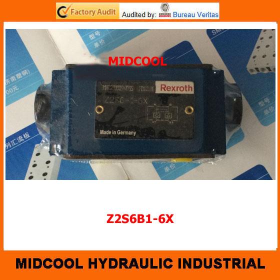 Фотография high quality hydraulic valve Z2S6B1-6X