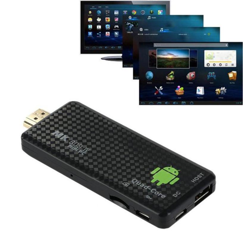 MK809IV Android 4.4 TV Dongle Box Quad Core Mini PC 1080P 3D Media Player Kodi Dec15(China (Mainland))