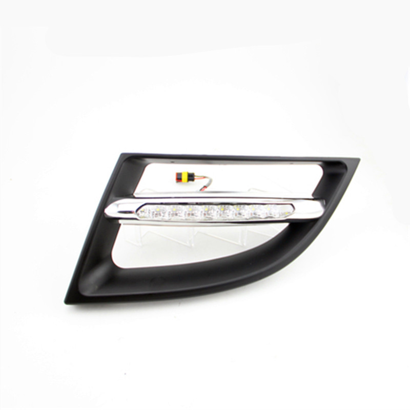 LED DRL for Renault Megane 3 20112012 2013 daytime running lights with Light-off function,led bumper lamp,car styling accessory(China (Mainland))