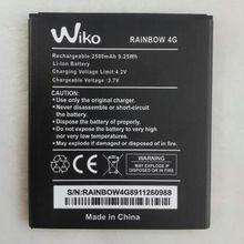 Wiko Rainbow 4G Battery 2500mAh High Quality Mobile Phone Bateria Batterie