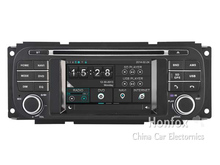 Car DVD Head unit For Jeep Wrangler 2003-2005 / Liberty 2002-2007 with Radio GPS DSP Navigation Recorder Video Stereo