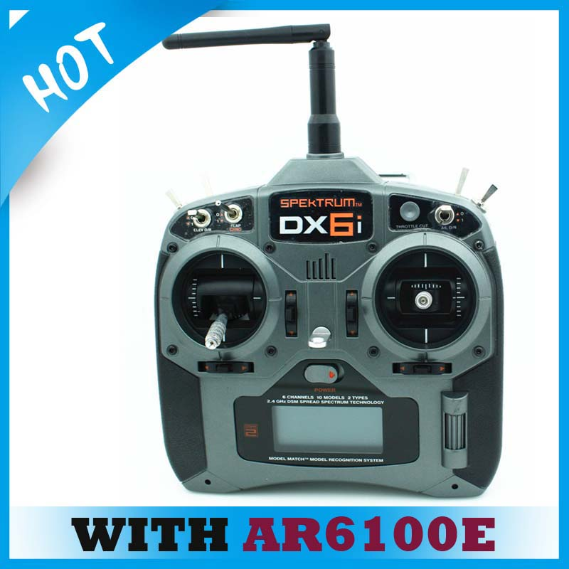 2.4GHz 6Channel DX6i Remote Control Radio with AR6100E Receiver