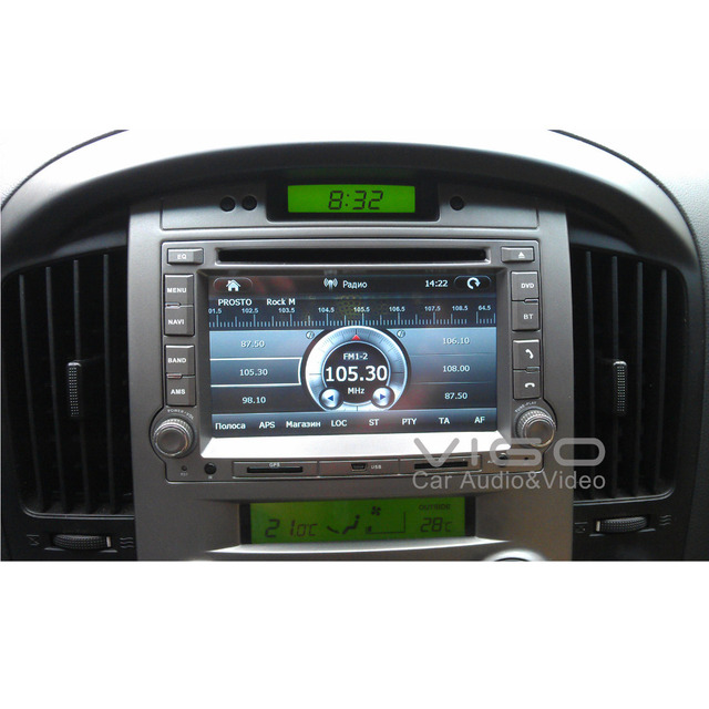 Car Stereo for Hyundia H1 Starex iMax iLoad i800 GPS Navigation Headunit Multimedia Autoradio Sat Nav Radio iPod Hot  In Brazil