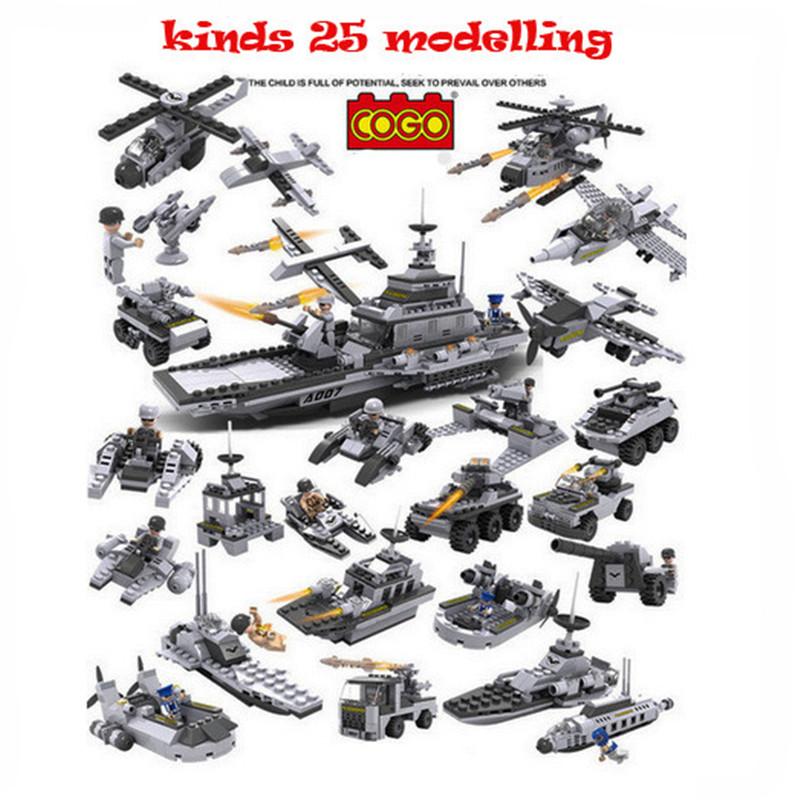 item img pcs lot XBL Playmobil Military Star Wars Spaceship Building LegoBlocks Sets Montessori Brick Boy Toys Brinquedos