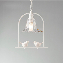 IKEA Modern Creative Pendant Light Bird Pendant Light Used in Dining room  Living Room  Aisle Guaranteed 100%+Free shipping!(China (Mainland))