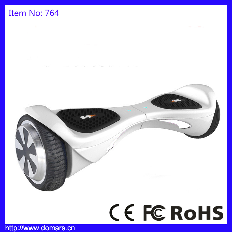 New Design Two Wheels Balance Scooter Electric Skateboard 6 5 inches Hoverboard Bluetooth Music Speaker With