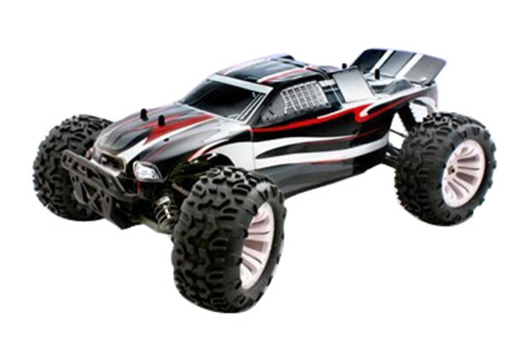 Brand New RC Toys 2.4G 4WD 1/10 Scale Nitro Off- road RC Monster Truck Car Kit RH1001(China (Mainland))
