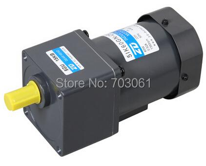 60w Micro Ac Induction Gear Motor Ac Gear Reduction Motors