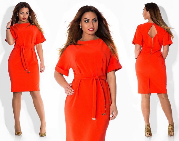 Russian style 2016 plus size women clothing women's casual new spring and summer knee-length dress o neck women dresses(China (Mainland))