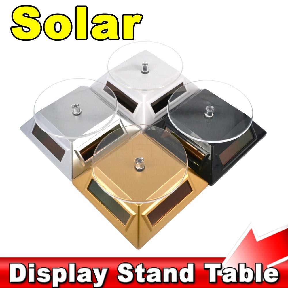 Exhibition Stand Table : Exhibition stand solar auto rotating display rotary