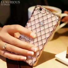 Diamond mobile phone case For iPhone 6/6S/ 6Plus/6SPlus,Anti fall, anti impact,new generation of mobile phone cases