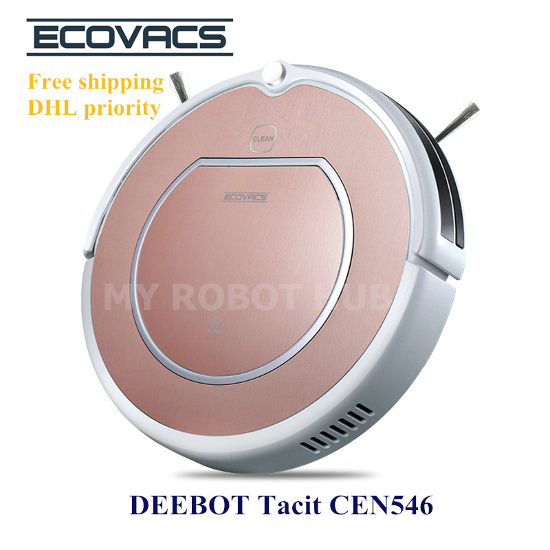 Robot Vacuum Cleaner Ecovacs DEEBOT Tacit CEN546 Floor Cleaning/Mopping Robot(China (Mainland))