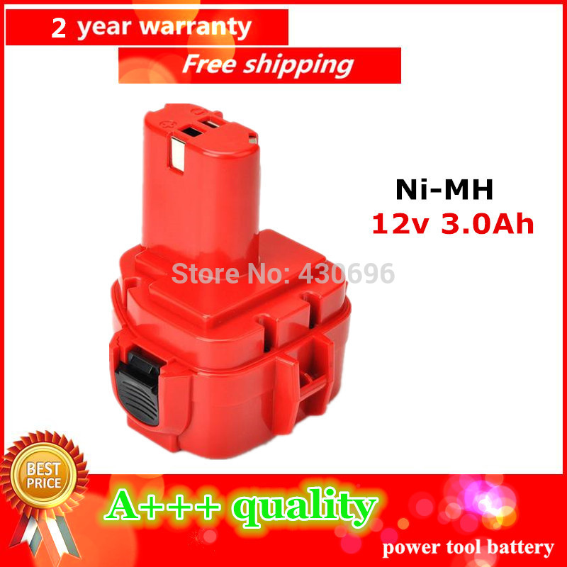 Ni-MH 12v 3.0Ah Replacement  for MAKITA  power tool battery 192681-5/192698-2/1222, for 1050D 1050DA  4013D 4191D 6918D 8270DWAE<br><br>Aliexpress