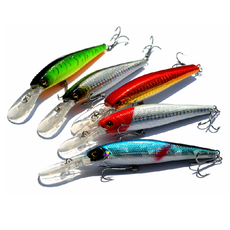 5pcs sea fishing lures megabass madbite anchor fishing