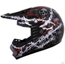 US SparX helmet motorcycle helmet full helmet professional off-road rally helmet flower arrow D-07