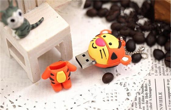 mini cartoon Jump Tiger USB flash drive/creativo pendrive/memory Stick/Disk/Thumb Gift 4GB 8GB 16GB 32GB 64GB S310(China (Mainland))