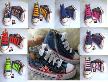 2015 Hot Sale Euro size 25~35 Children shoes Kids canvas sneakers for boys and girls jeans shoes zipper TH-2 denim boots child