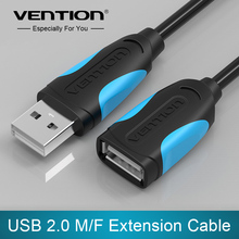 Vention USB 2.0 Male to Female USB Cable Extend Extension Cable Cord Extender For PC Laptop(China (Mainland))